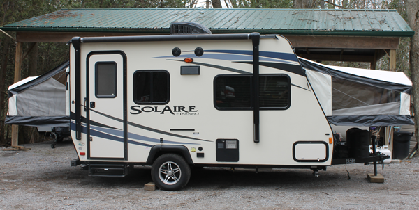 Please Click The Images Below For A Larger View Solaire Hybrid Camper Trailer